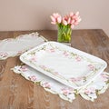 Embroidered and Cutwork Table Linen