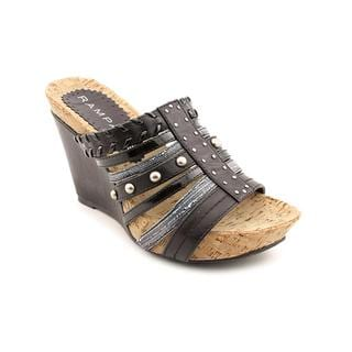 Rampage Women's 'Naima' Faux Leather Sandals