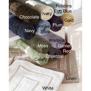 Egyptian Cotton Luxurious 24 x 40 Bath Rug