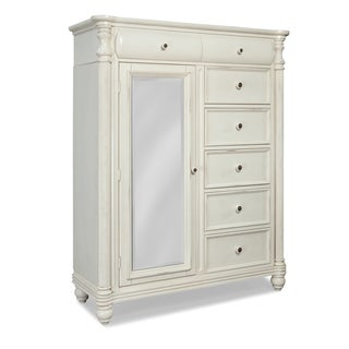 Eastport Eggshell White Door Chest