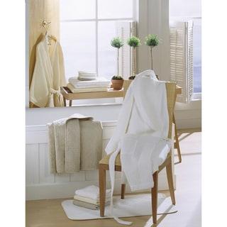 Egyptian Cotton Kimono Waffle Bath Robe
