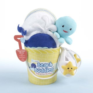 Baby Aspen Beach Buddies 3-piece Bath Bucket Gift Set