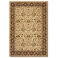 Courtisan Pera Birjand/ Latte Area Rug (7'10 x 11'2)