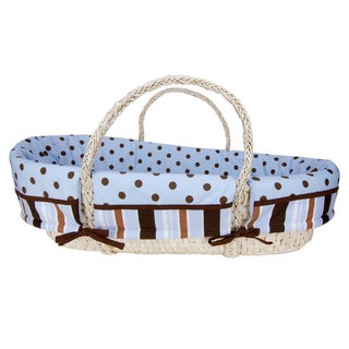 Trend Lab Max 4-piece Moses Basket Set