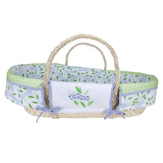 Trend Lab Caterpillar 4-piece Moses Basket Set