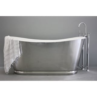 'The Cleeve' from Penhaglion 68-inch Cast Iron French Bateau Bathtub
