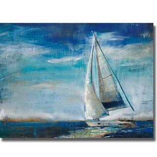 Liz Jardine 'Sail Away' Canvas Art