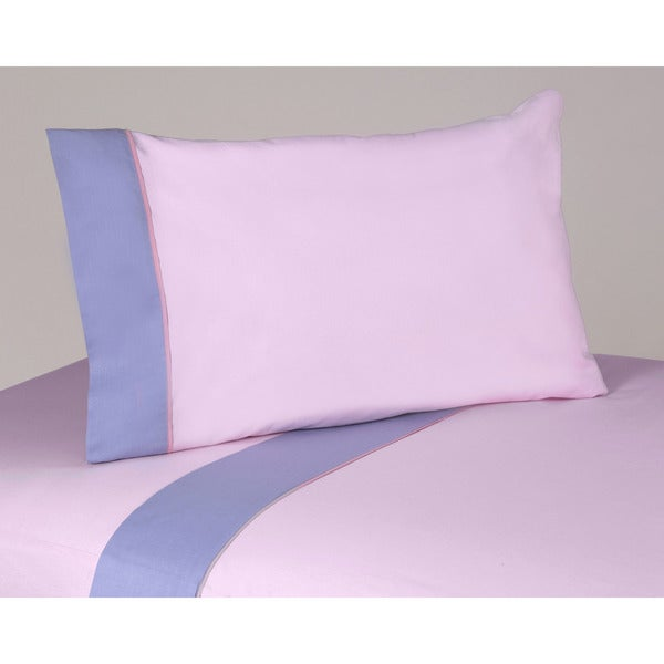 Sweet JoJo Designs 200 Thread Count Pink/ Purple Butterfly Bedding Collection Cotton Sheet Set