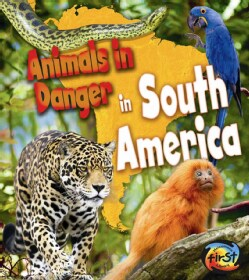 Animals in Danger in South America (Hardcover)