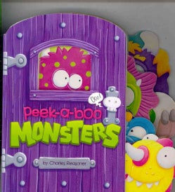 Peek-a-Boo Monsters (Board book)