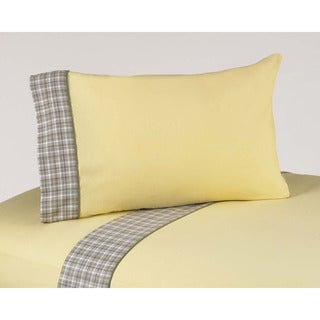 Sweet JoJo Designs 200 Thread Count Construction Zone Bedding Collection Cotton Sheet Set