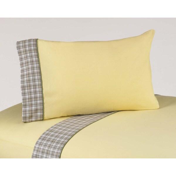 Sweet JoJo Designs 200 Thread Count Construction Zone Bedding Collection Cotton Sheet Set