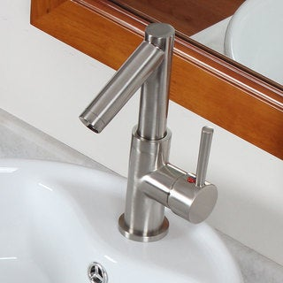 Elite Brushed Nickel Bathroom Sink Faucet