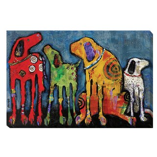 Jenny Foster 'Best Friends' Canvas Art