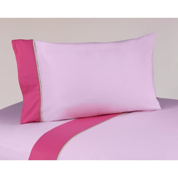 Sweet JoJo Designs 200 Thread Count Flower Bedding Collection Cotton Sheet Set