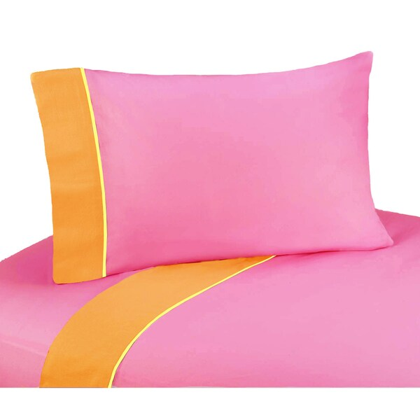 Sweet JoJo Designs 200 Thread Count Groovy Bedding Collection Cotton Sheet Set