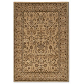Courtisan 'Pera Urumqi' Latte Brown Area Rug (7'10 x 11'2)