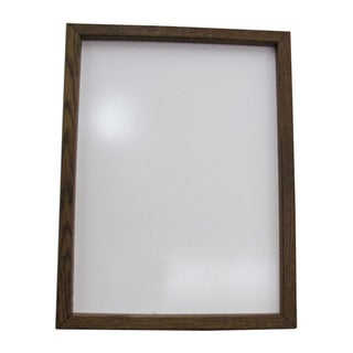 Hand-stained Framed Dry Erase Board (12x16)