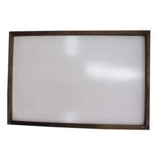 Hand-stained Framed Dry Erase Board (16x24)