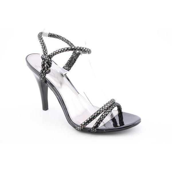 Calvin Klein Women's 'Amber' Leather Sandals