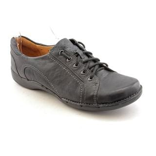Unstructured By Clarks Women's 'Un.Birch' Leather Casual Shoes - Narrow (Size 8.5)