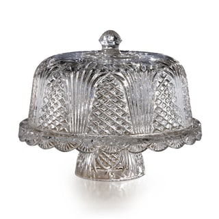 Fifth Avenue Crystal Wellington Cake Plate with Dome