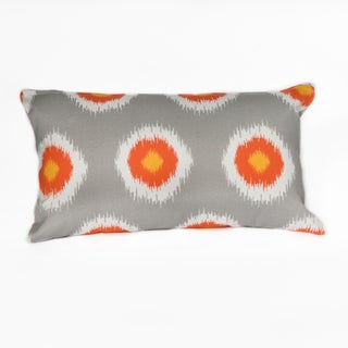 Ikat Domino Lumbar Pillow