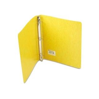 Recycled Presstex 1-inch Capacity Yellow Round Ring Binder