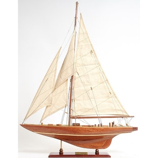 Old Modern Handicrafts Enterprise Small Model Ship