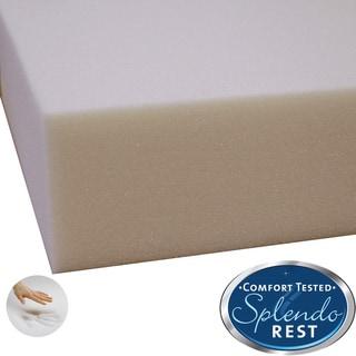 Splendorest 4 inch Memory Foam Mattress Topper Overstock