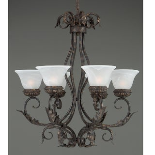 Wilshire Six-light Espresso Finish Chandelier