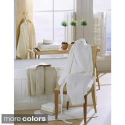 Egyptian Cotton Shawl Collar Waffle Bath Robe