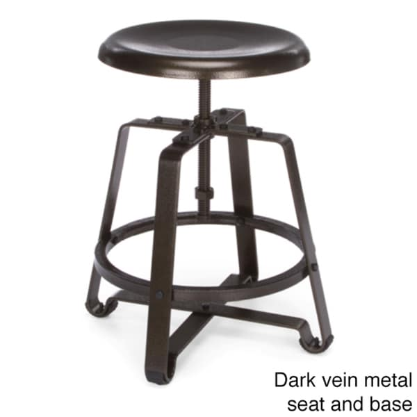 Ofm Endure 25 Inch Adjustable Height Spindle Stool