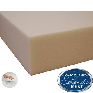 Splendorest 5-inch Memory Foam Mattress Topper