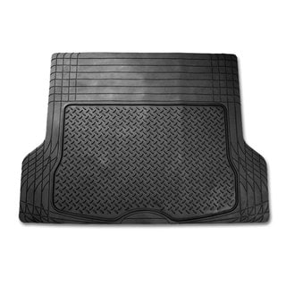 FH Group Black Vinyl Trim-able Trunk Cargo Mat