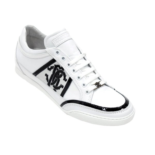 Roberto Cavalli Men's Leather Sneakers