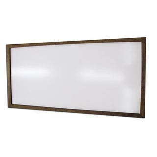 Hand-stained Framed Dry Erase Board (24 x 48)