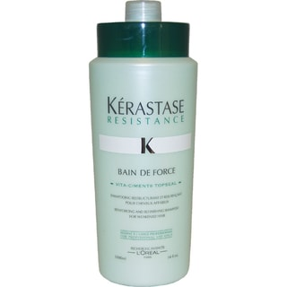 Kerastase Resistance Bain De Force 34-ounce Shampoo