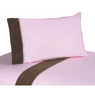 Sweet JoJo Designs Soho Pink Bedding Collection Sheet Set