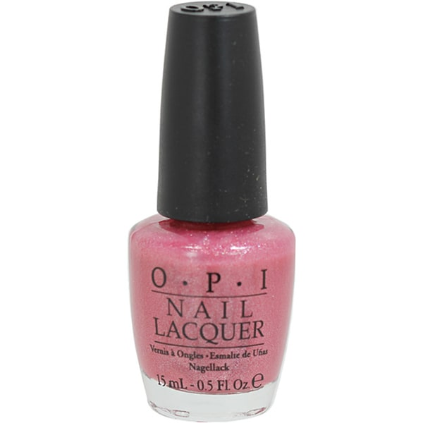 OPI Pink Before You Leap Nail Lacquer