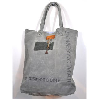 Recycled Cotton Canvas Key Bag (India)