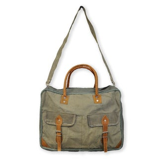 Recycled Canvas Weekender Bag (India)