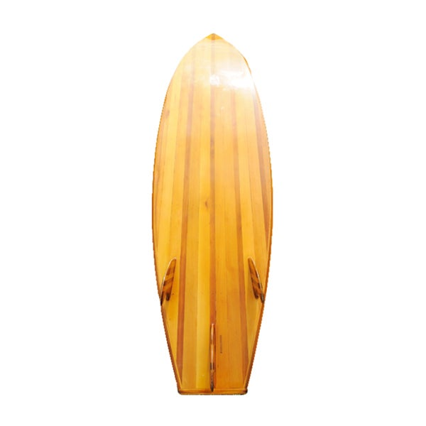 Old Modern Handicrafts 6-Foot Cedar Surf Board 10820342