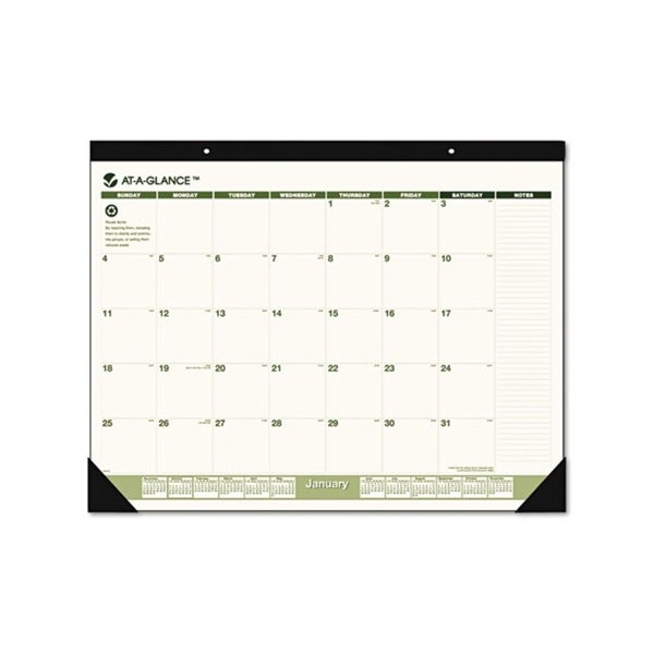 2015 Recycled Desk Pad (17 x 22)