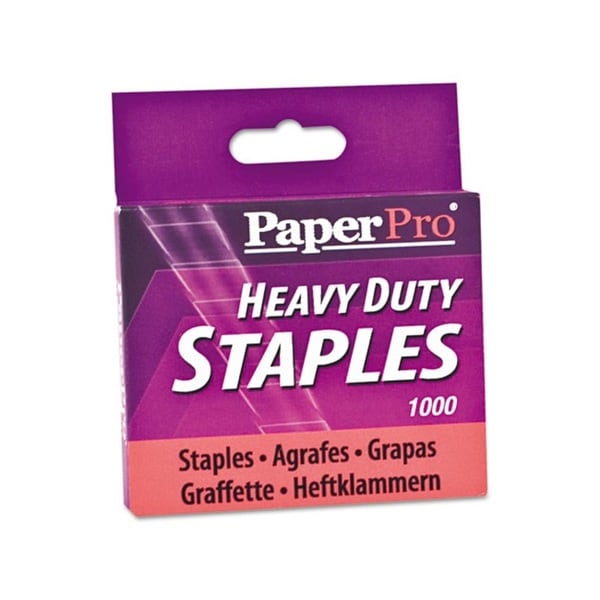 Heavy-duty 0.5-inch Leg Length Staples (Box of 1000)