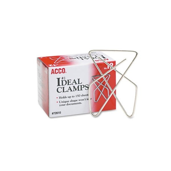 Steel Wire Large 2.625-inch Silver Ideal Clamps (Pack of 12)