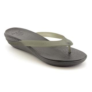 Crocs Women's 'Carlie' Synthetic Casual Shoes - Wide