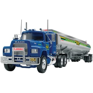Mack R Conventional and Fruehauf Tanker 1:32 Plastic Model Kit