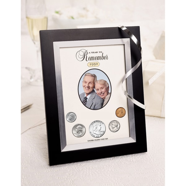 American Coin Treasures Year To Remember Coin Picture Frame (1965-2015)