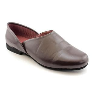 Slippers International Men's 'Fireside' Leather Casual Shoes - Narrow (Size 14)
